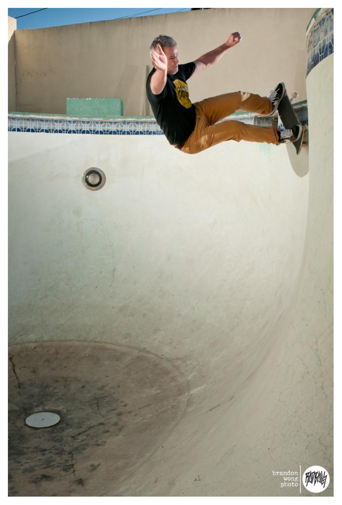 cam dowse empty pool