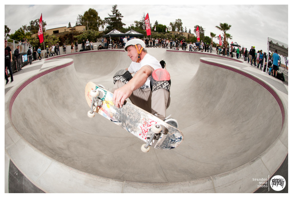Cam Dowse skatepark in huntington beach