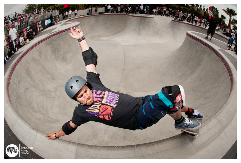 Christian Hosoi Huntington beach skatepark
