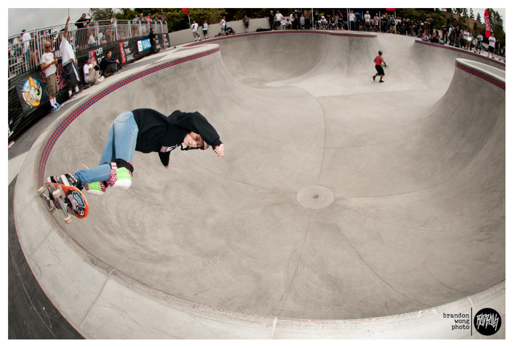 Kayula Caballero vans skatepark huntington beach