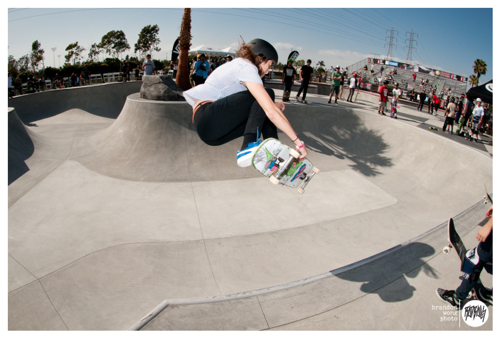 Nora Vasconcellos huntington beach skatepark