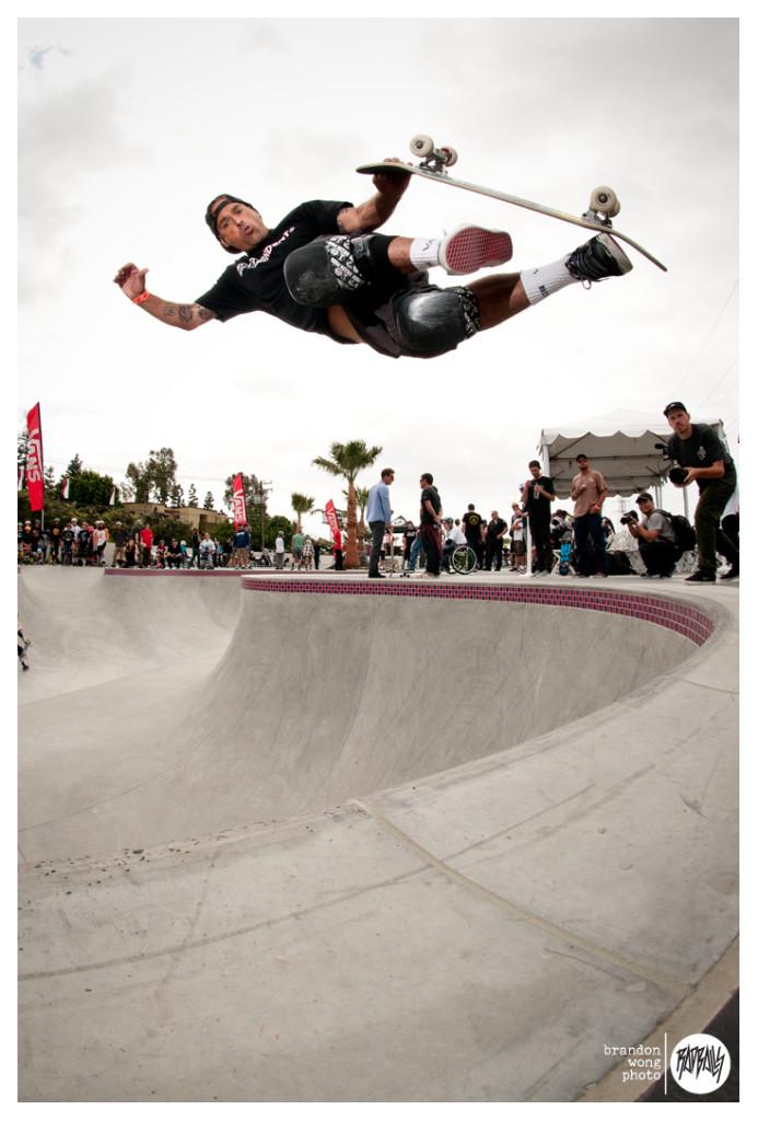 Omar Hassan Huntington Beach skatepark