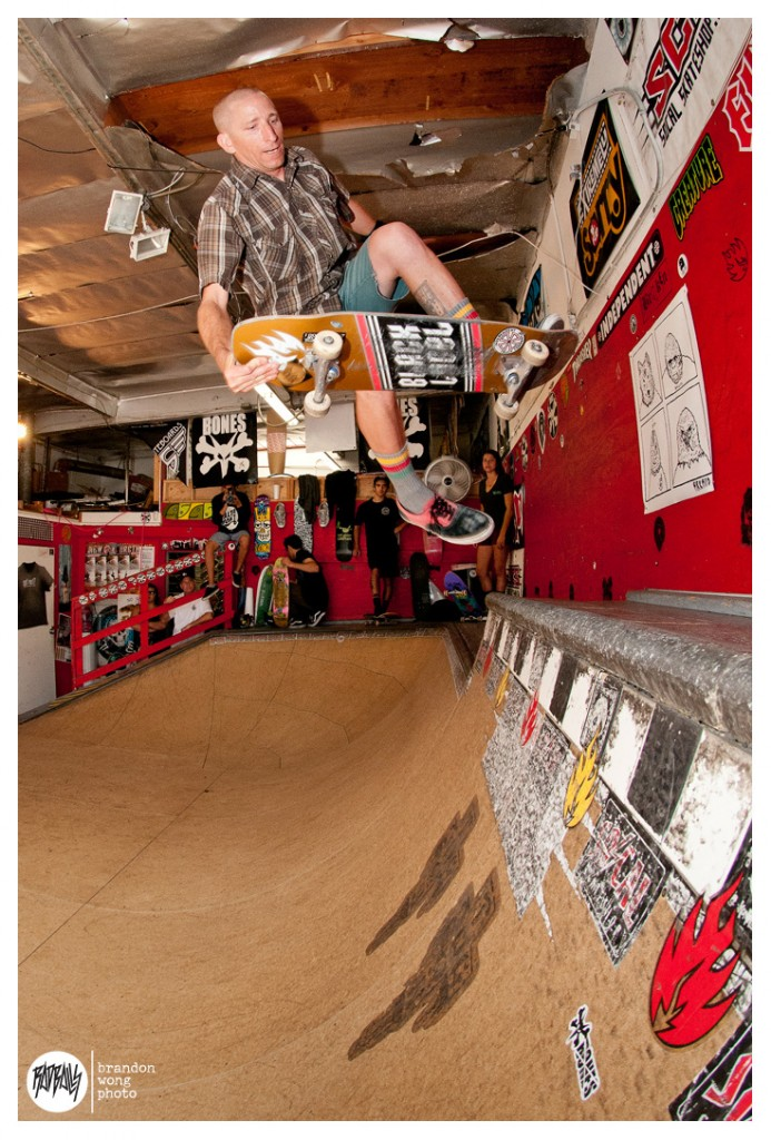 Brant Austin - SoCal Skateshop Ramp (RIP) - 6/30/13