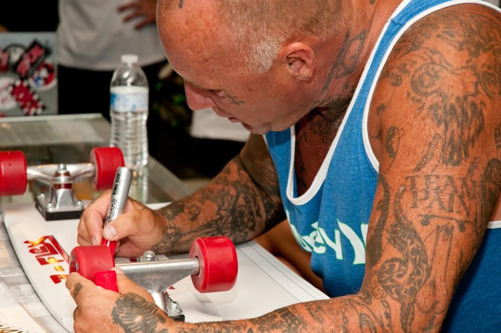 Jay Adams signing