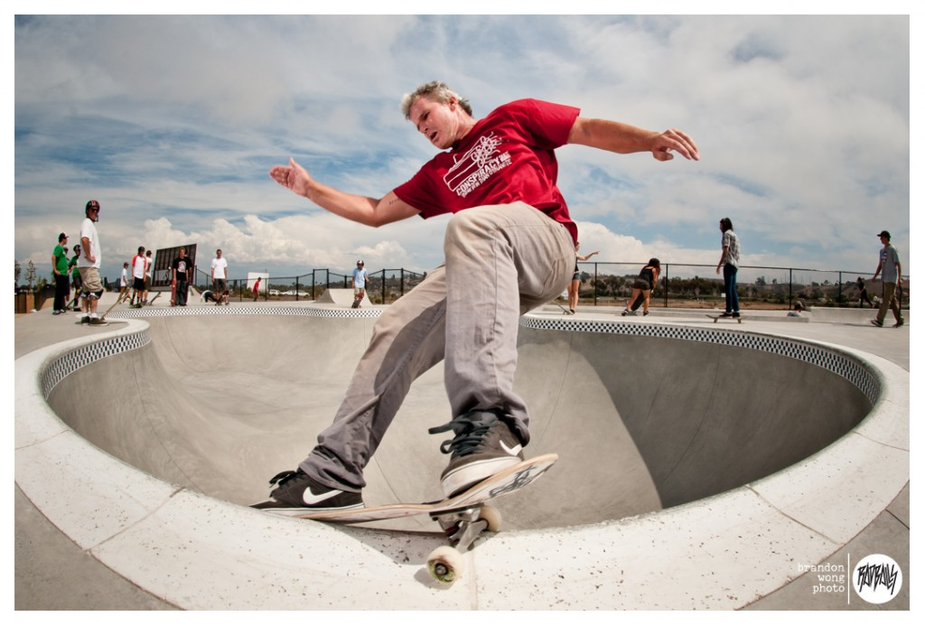 Cam Dowse at Oceanside Alex Road Skatepark