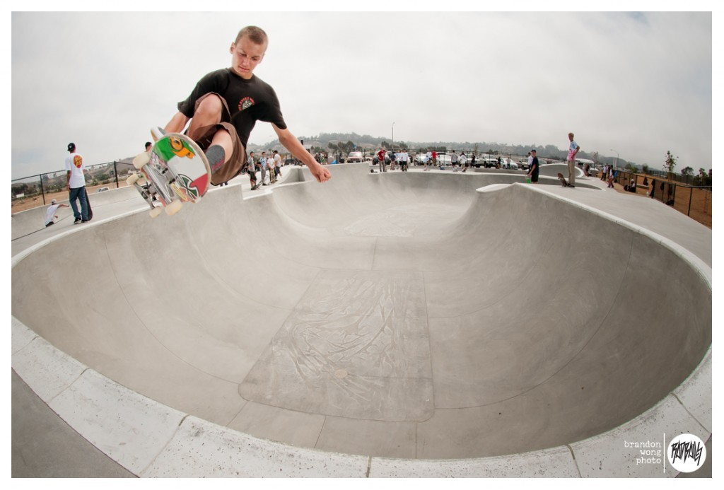 Tristan Rennie at Oceanside Alex Road Skatepark