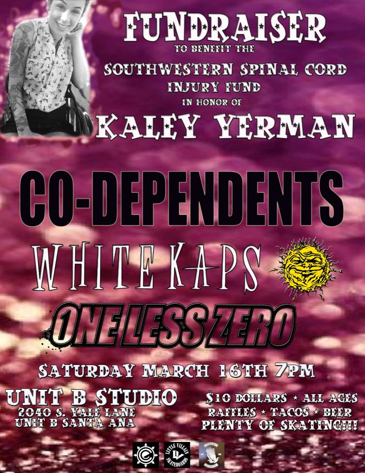 Kaley Yerman Benefit - March 16 at Unit B