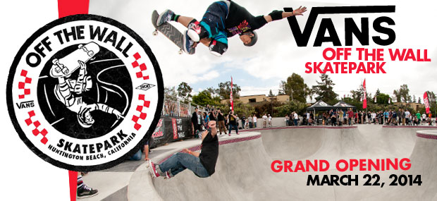 vans off the wall skatepark