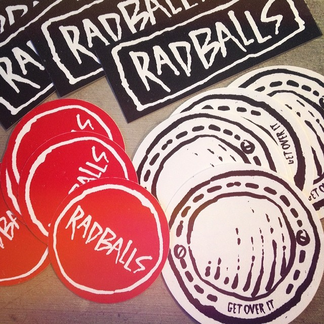 radballs stickers
